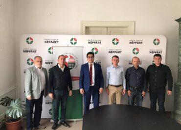Folytatják a közös munkát: a Fidesz parlamenti képviselőjével találkoztak a Néppárt vezetői